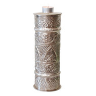 Indian Silver Metal Candle Holder