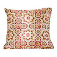 Moroccan Zellij Fabric , Red
