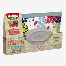 Huggies Clutch N Clean Wipes Refill Pack
