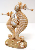 Double Resin Seahorse