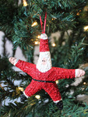 Starfish Santa Claus Ornament