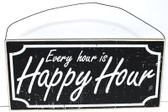 Happy Hour Wood Sign