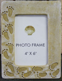 Footprints in the Sand 4x6 Picture Frame