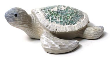 Crushed Glass Sea Turtle