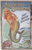 Mermaid Brand Oysters Sign