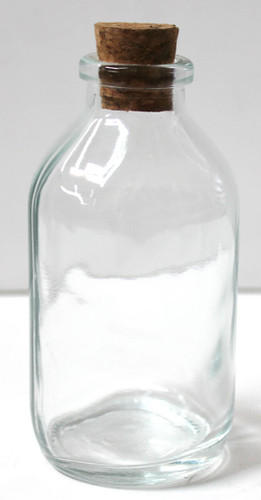 Small empty glass bottles party favors beach wedding for How to decorate empty glass jars