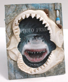 Shark Jaws - Live Bait - 4x6 Picture Frame