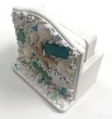 Sea Glass Coasters with Box