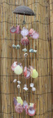 Coconut & Colored Shell Chimes