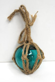 Teal Glass Float 3""