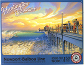 Huntington Beach - Erickson Metal Sign