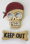 Keep Out Skull