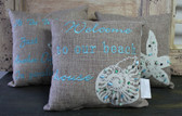 Nautical Beach Chic Pillows
