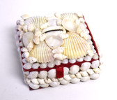 White Seashell Box