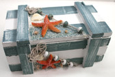 Nautical Box with Fish Net