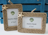 Rope & Starfish Picture Frame