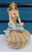 Mermaid Trinket Box Closed