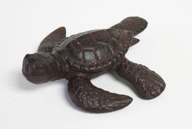 Brown Iron Sea Turtle