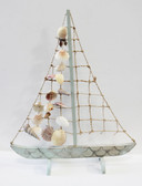 Rope & Shell Sailboat