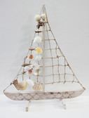 Rope & Shells Sailboat