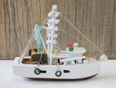 White Shrimp Boat