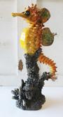 Yellow Seahorse Figurine