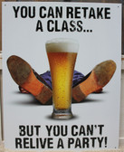 Professional Student Metal Sign