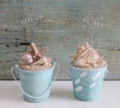 Beach Bucket - Sand Pail Place Card Holders