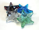 Starfish Glass Paper Weights - Set of 4