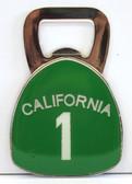 California 1 Bottle Opener Magnet