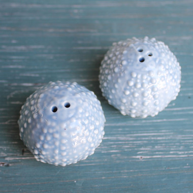 Sea Urchin Salt & Pepper Shaker Set