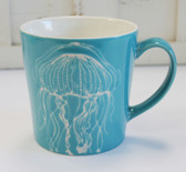Ceramic Jellyfish Mug