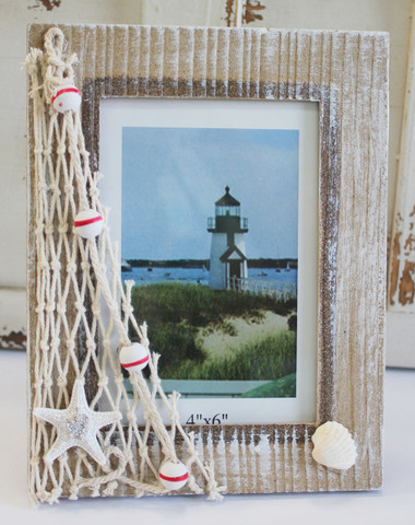 wood 4x6 nautical picture frame - Nautical Picture Frame