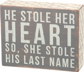 He Stole Her Heart So She Stole His Last Name