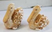 Sand Resin Pelican Figures