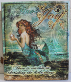 Have Joy Mermaid Canvas