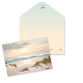 Beach Scene Note Cards