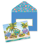 Island Charm Note Cards