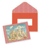 Sandcastle in the Sand Note Cards