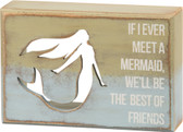 Best Friends Mermaid Sign