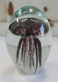Dark Purple Glass Jellyfish