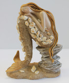 Thoughtful Sitting Mermaid