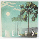Palm Tree Moon Relax Coaster