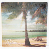 Palm Tree Relax Coaster