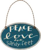 Peace Love and Sandy Feet