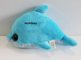 Blue Dolphin Plush
