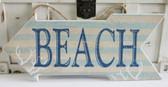 Coastal Beach Arrow Sign