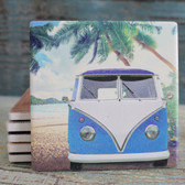 Blue VW Bus
