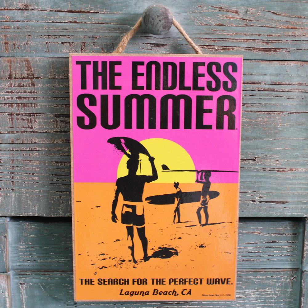 The Endless Summer Poster Art - Laguna Beach, CA - Made in ...