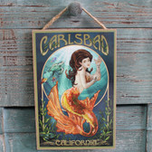 Carlsbad Mermaid Sign